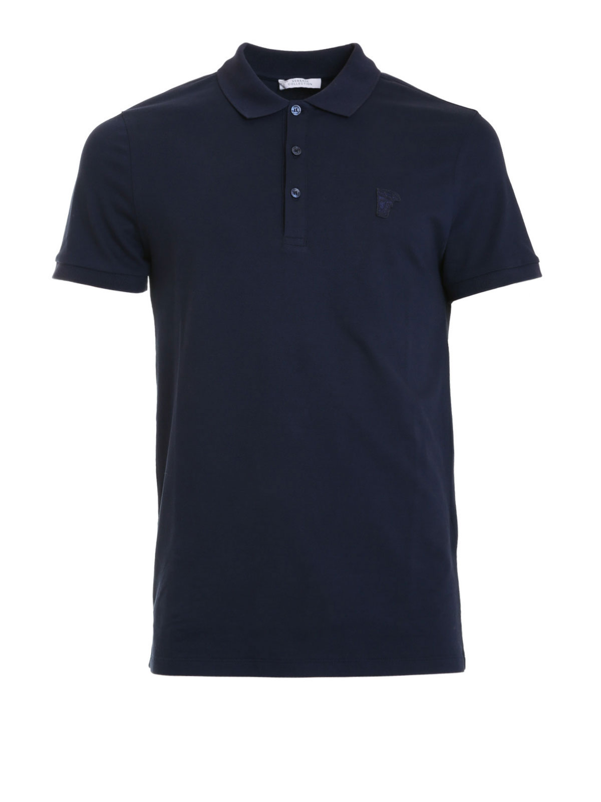 Logo polo shirt by versace collection polo shirts ikrix for Polo shirts with logos