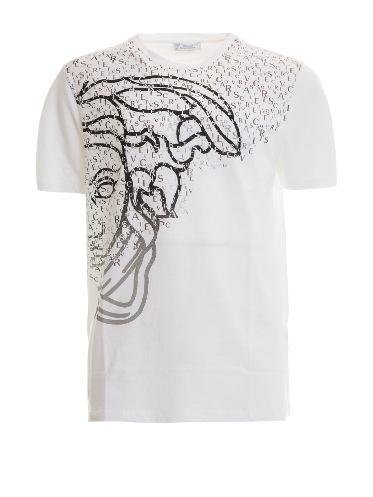 half medusa head t shirt by versace collection t shirts shop online at. Black Bedroom Furniture Sets. Home Design Ideas