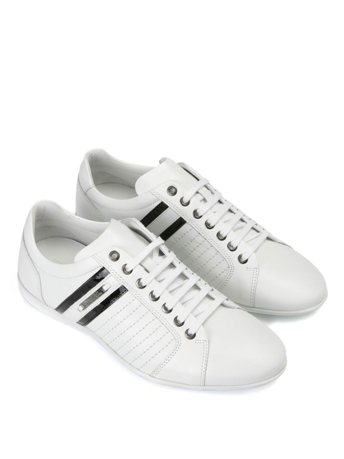 Blanc Baskets Sport Homme Pour Collection Chaussures De Versace qzx7w4pZ