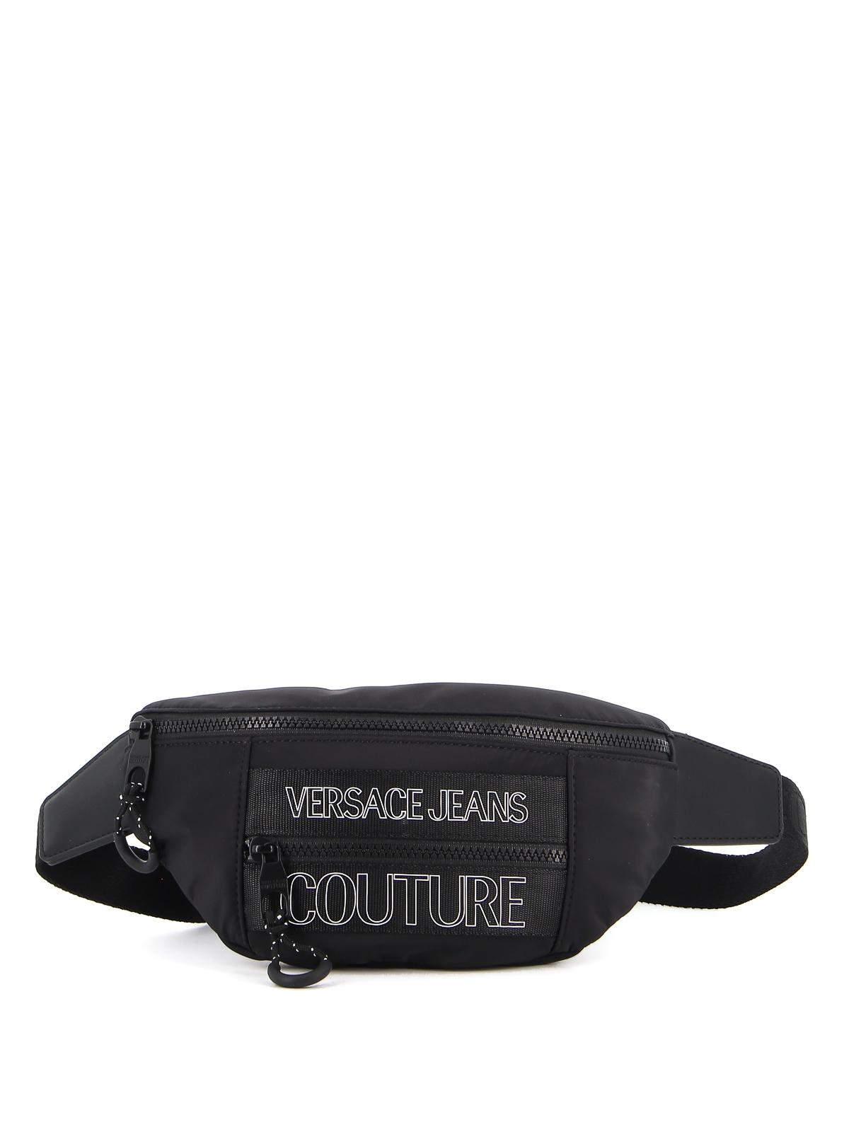 Versace Jeans Couture Bags GROS GRAIN LOGO NYLON BELT