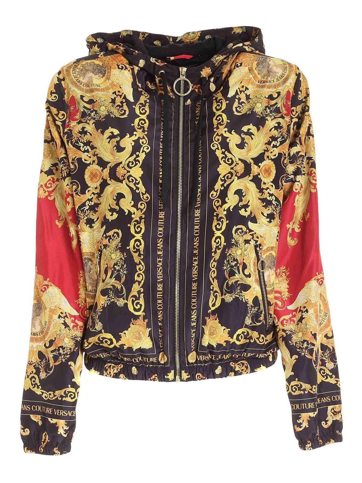 Versace Jeans Couture Bomber jackets VERSAILLE PRINT MULTICOLOR JACKET