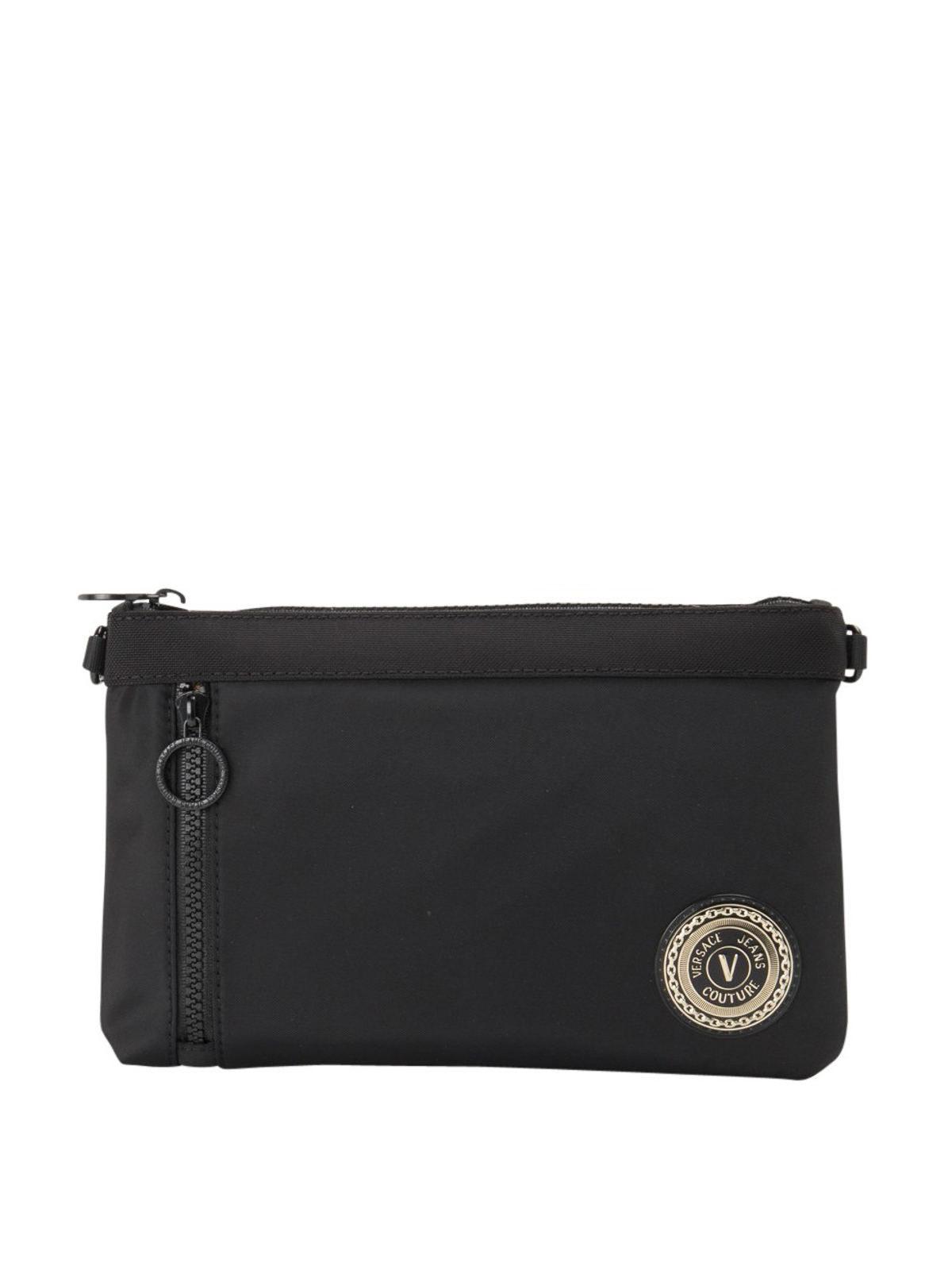 Versace Jeans Couture ZIP POCKET FABRIC CLUTCH