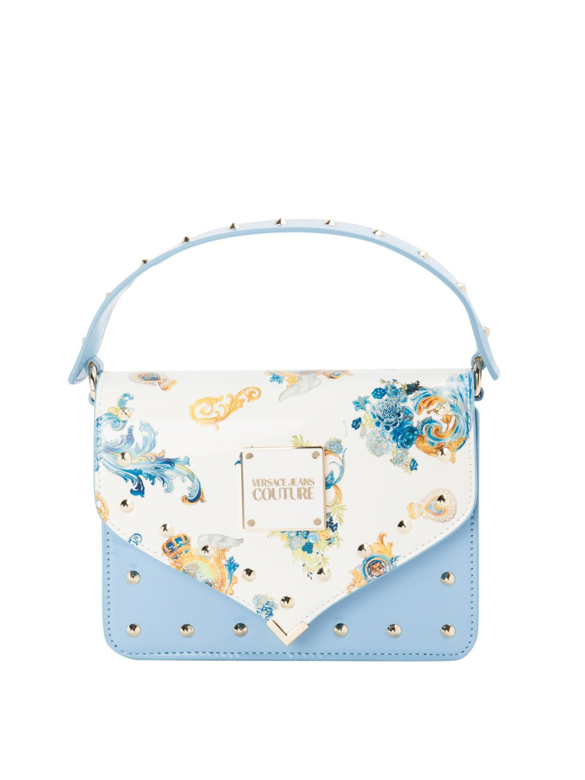 Versace Jeans Couture Crossbody bags ROCOCO PRINTED FLAP CROSSBODY BAG