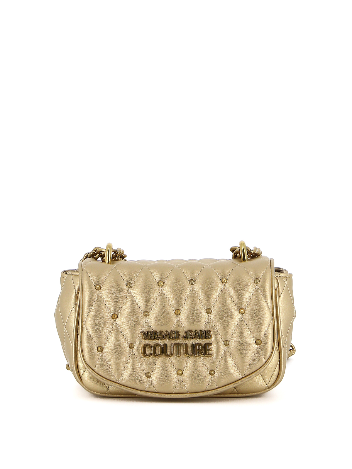 Versace Jeans Couture Leathers STUDDED CROSSBODY BAG