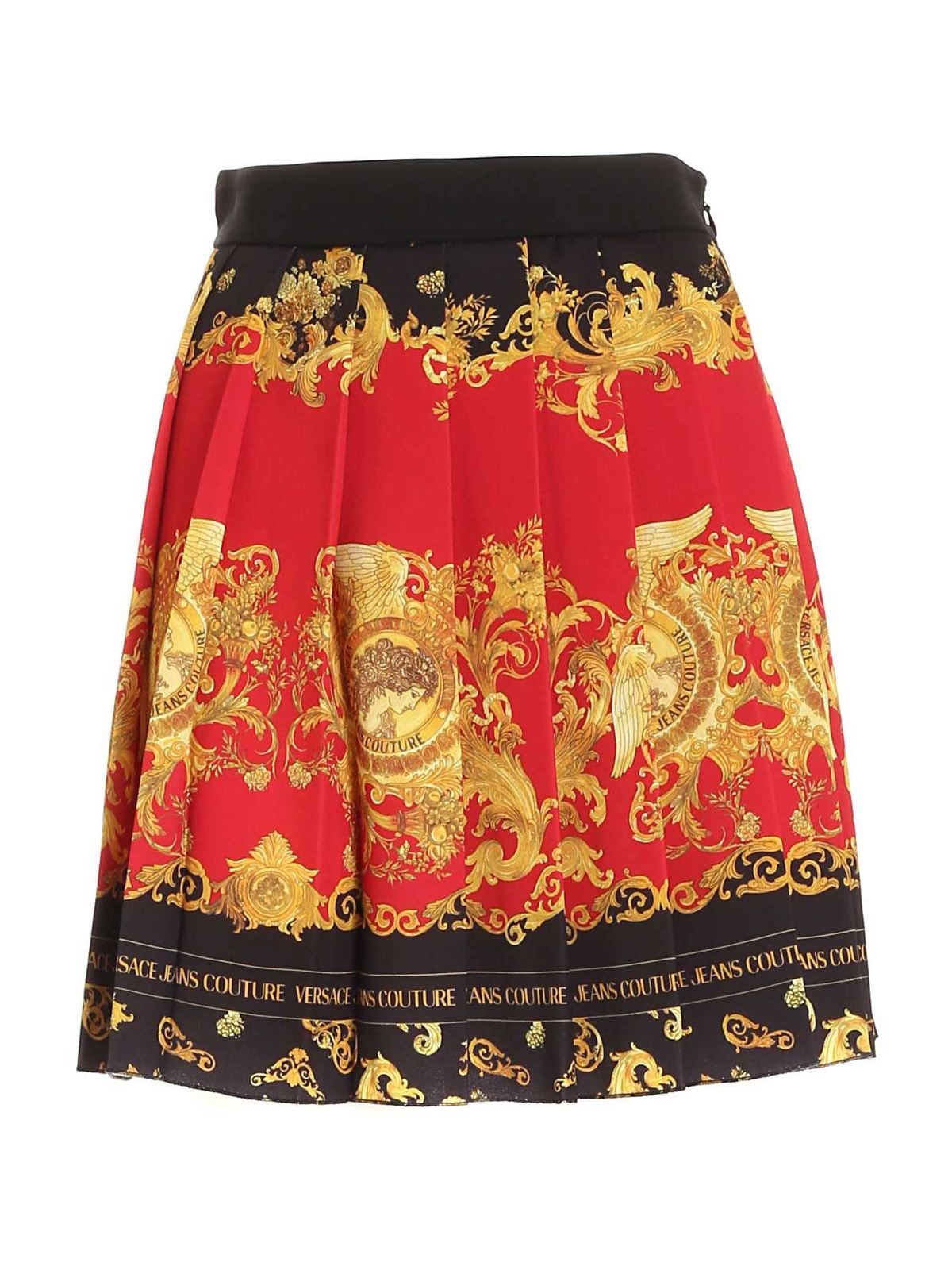 Versace Jeans Couture Skirts DAUPHINE PRINT SKIRT IN BLACK
