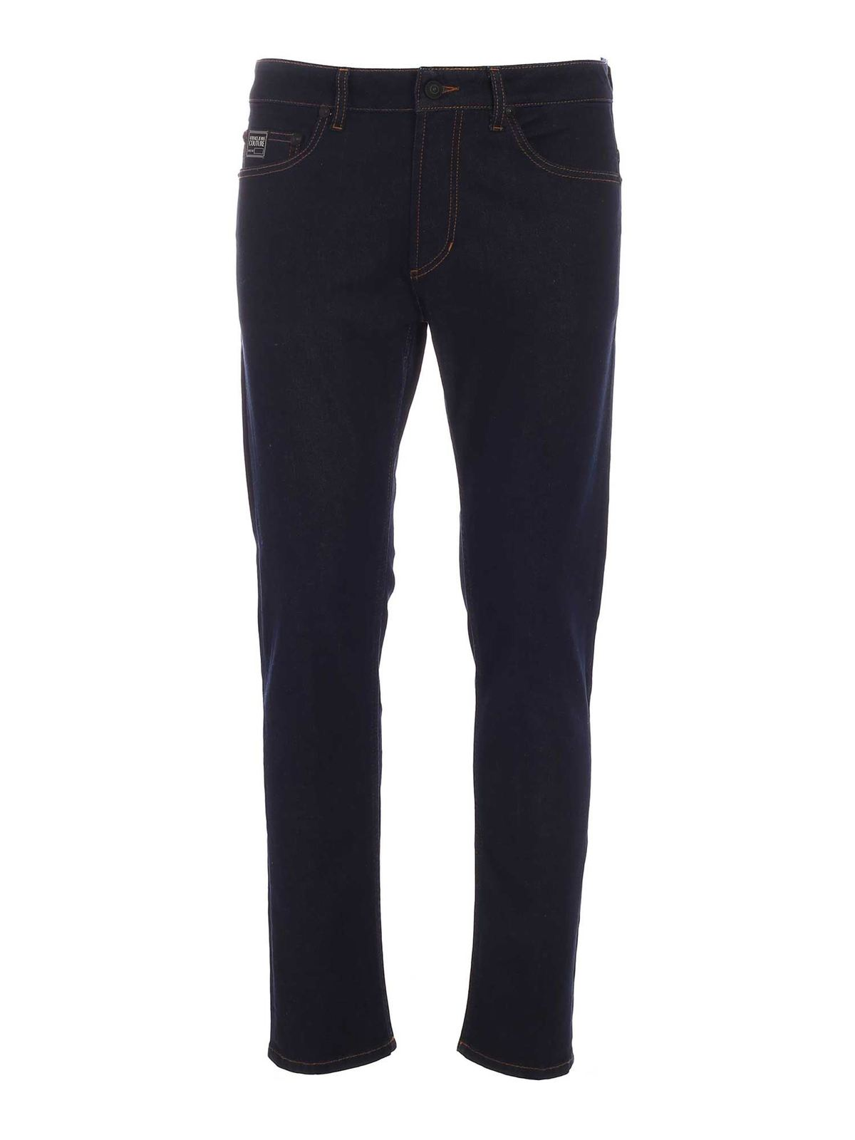 Versace Jeans Couture LOGO 5-POCKET JEANS IN BLUE