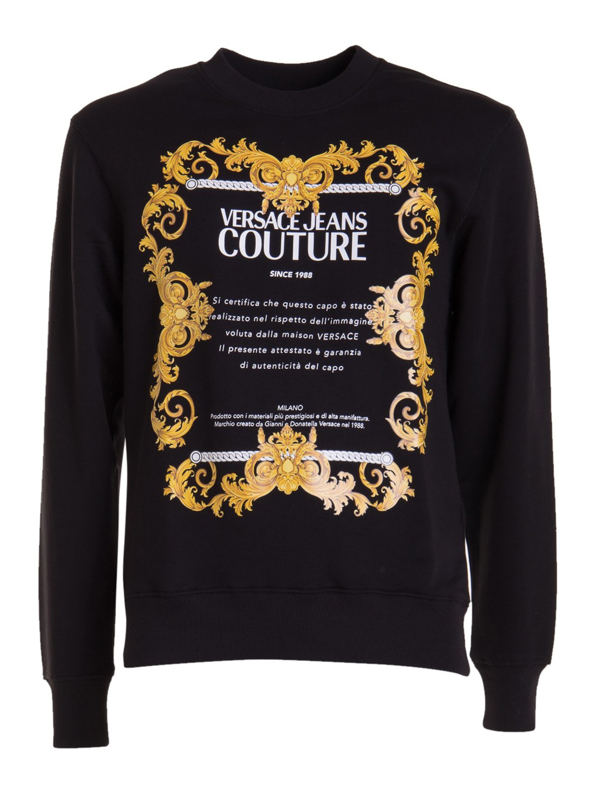 Versace Jeans Couture LOGO CREWNECK SWEATSHIRT
