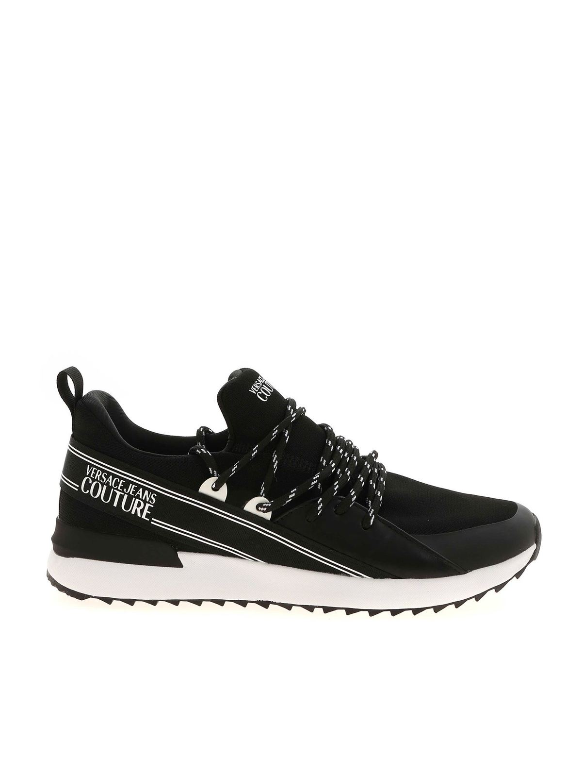 Versace Jeans Couture BLACK AND WHITE SNEAKERS