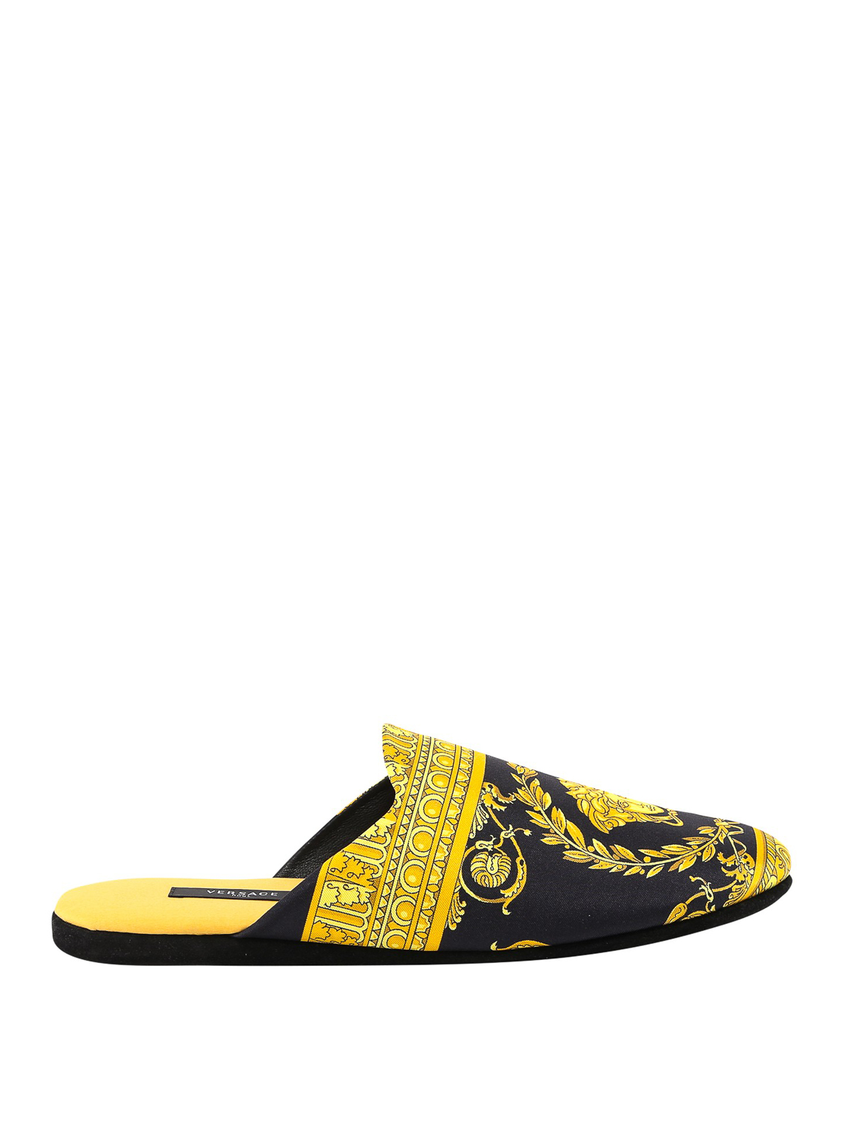 Versace SLIPPERS WITH LOGO