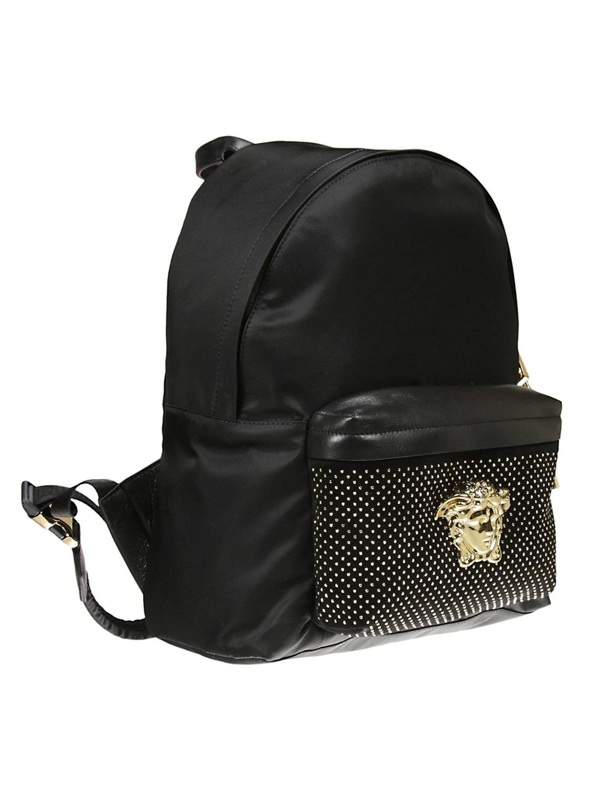 1fe54bb4de Versace - Palazzo studded backpack - backpacks - DBFF360 DNYCC D41OH