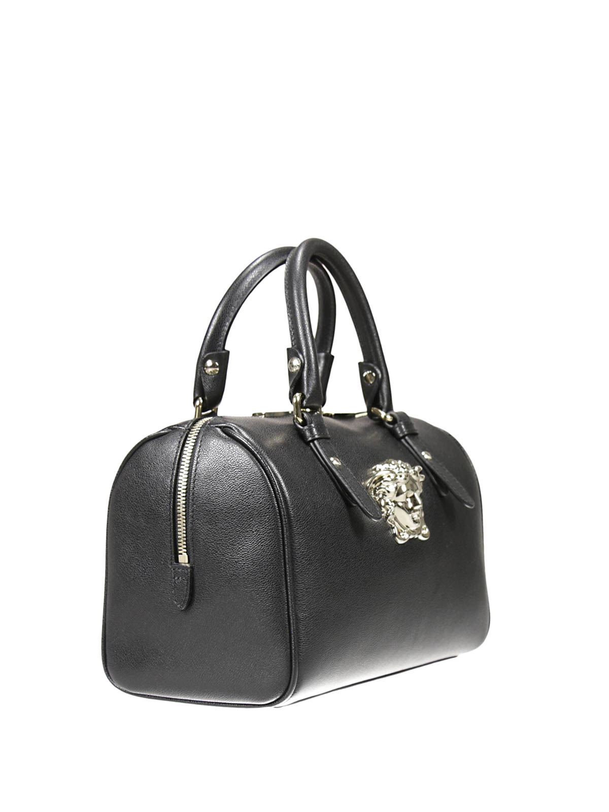 ... Women Palazzo Duffle Bag White O8d6609  super popular 4cf0d 79633  VERSACE bowling bags online - Palazzo bowling bag with Medusa ... f0d0ffe282c19
