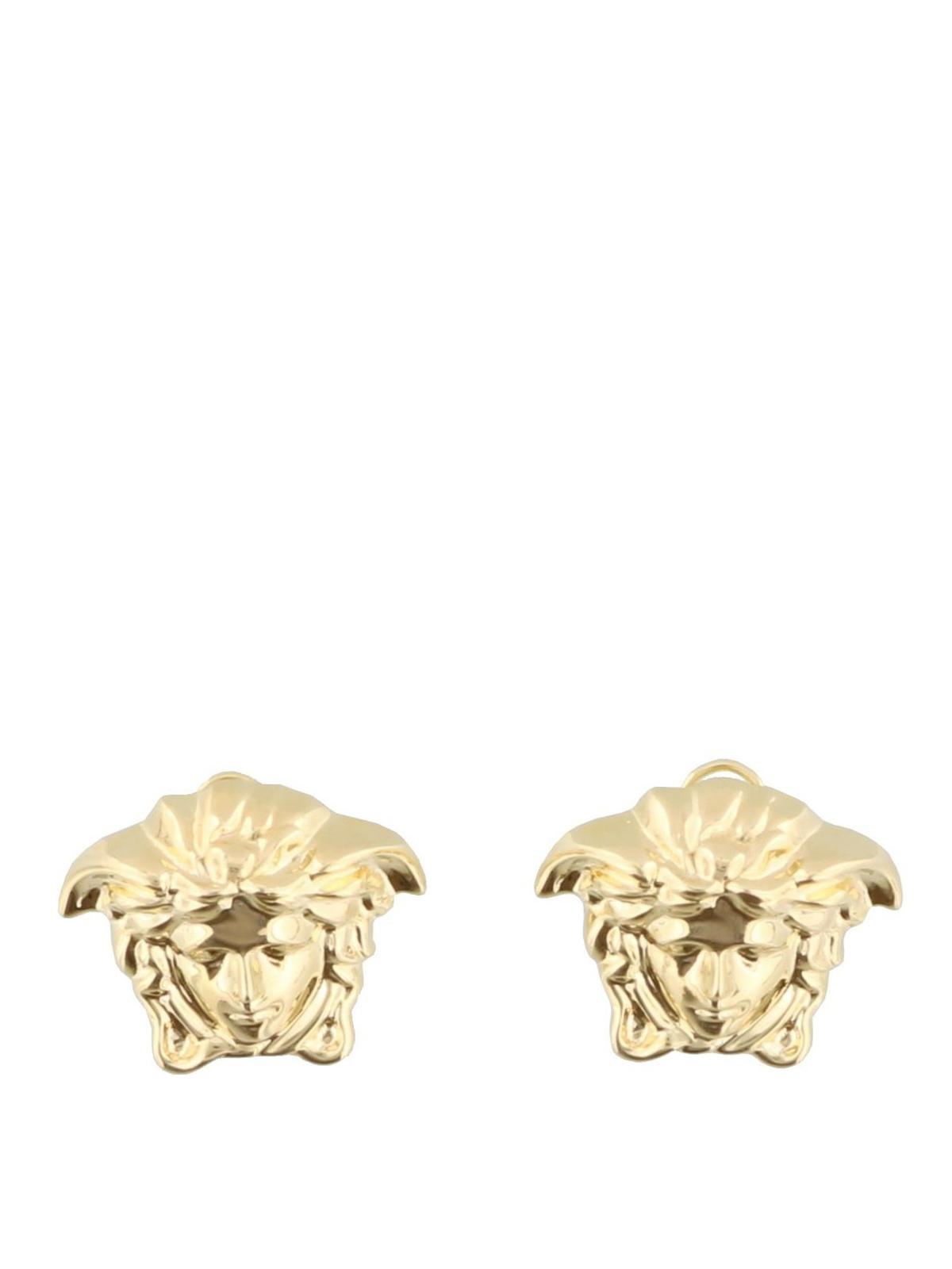 5670f5f24 VERSACE: Earrings online - Medusa Head gold-tone stud earrings