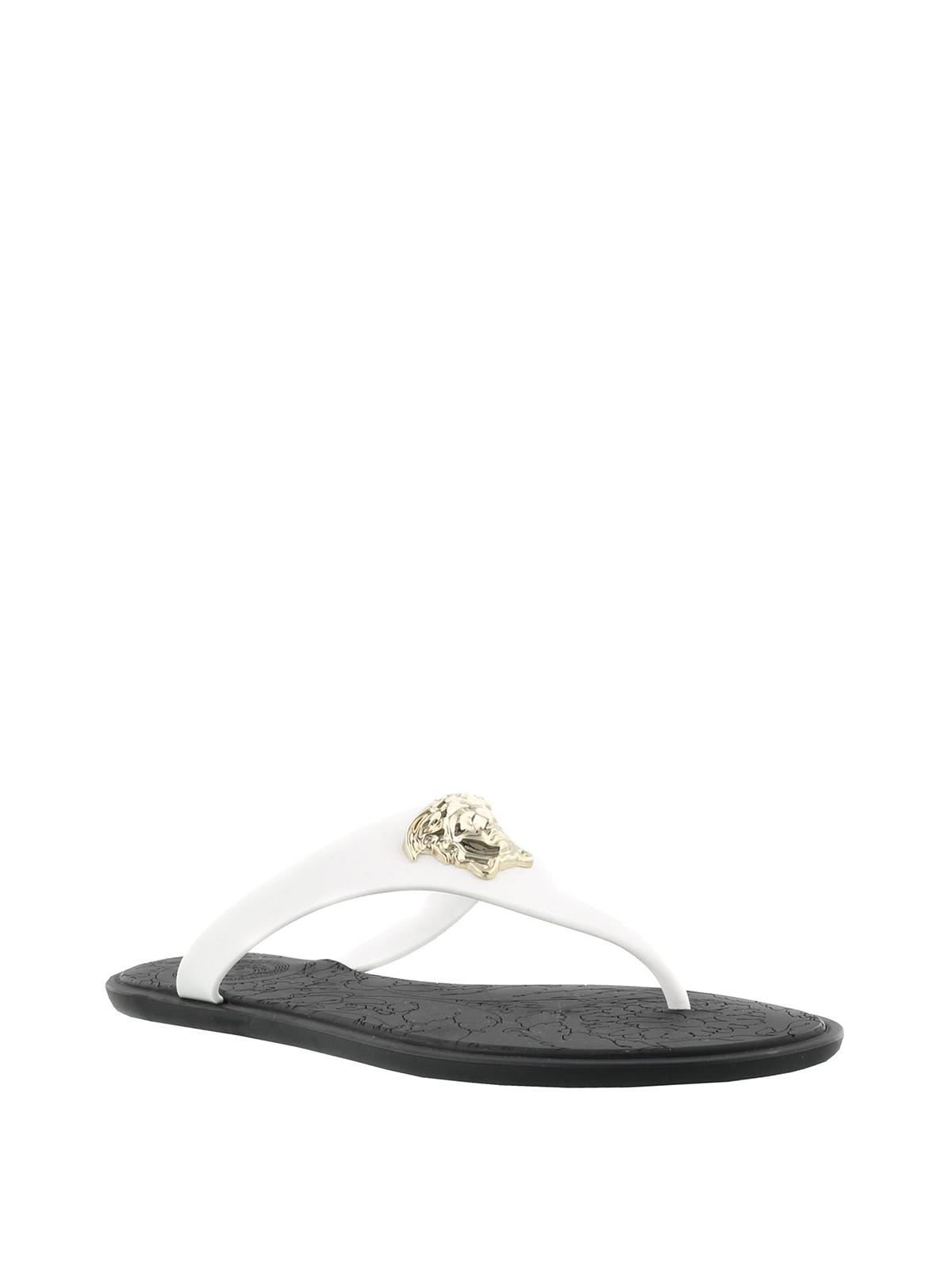 Versace - Medusa Palazzo thong sandals