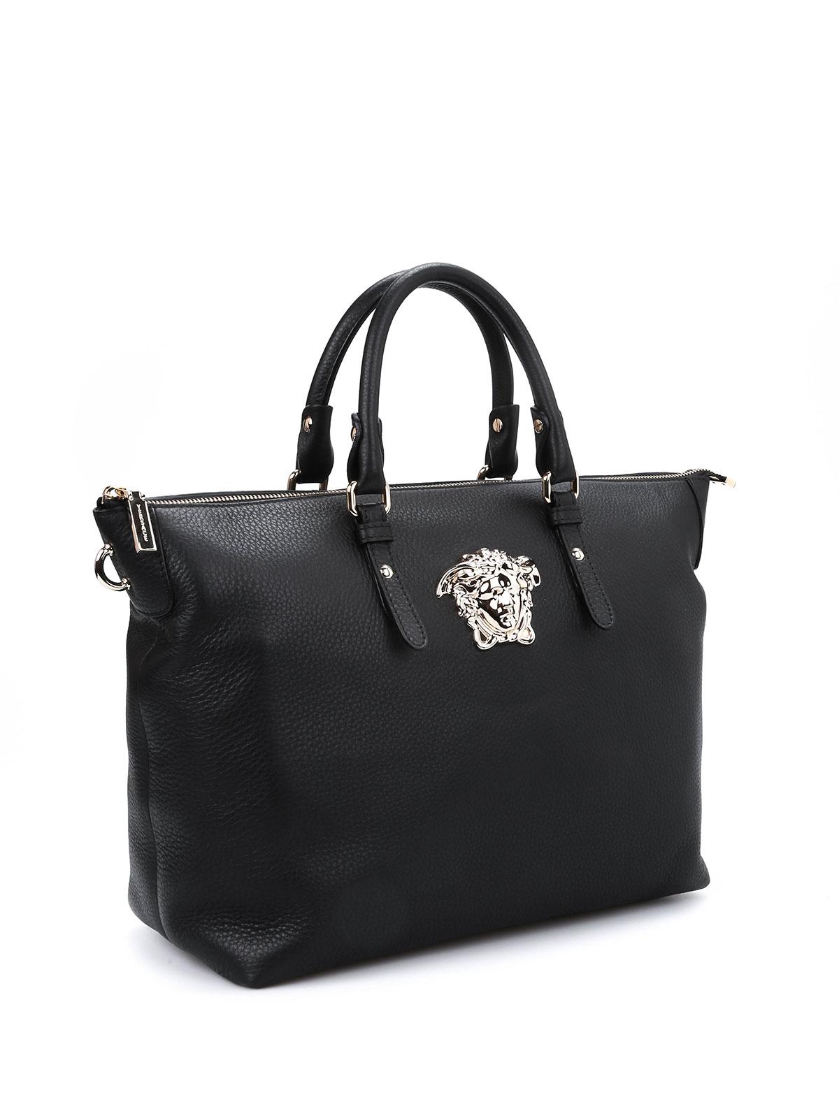 af13ff13b44 Versace - Medusa leather tote bag - totes bags - DBFE774DCEH   iKRIX.com