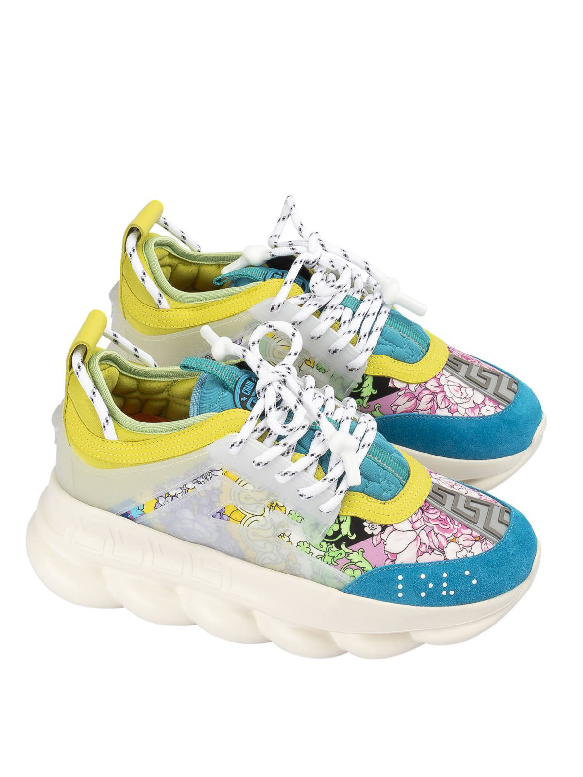 Chain Reaction floral sneakers