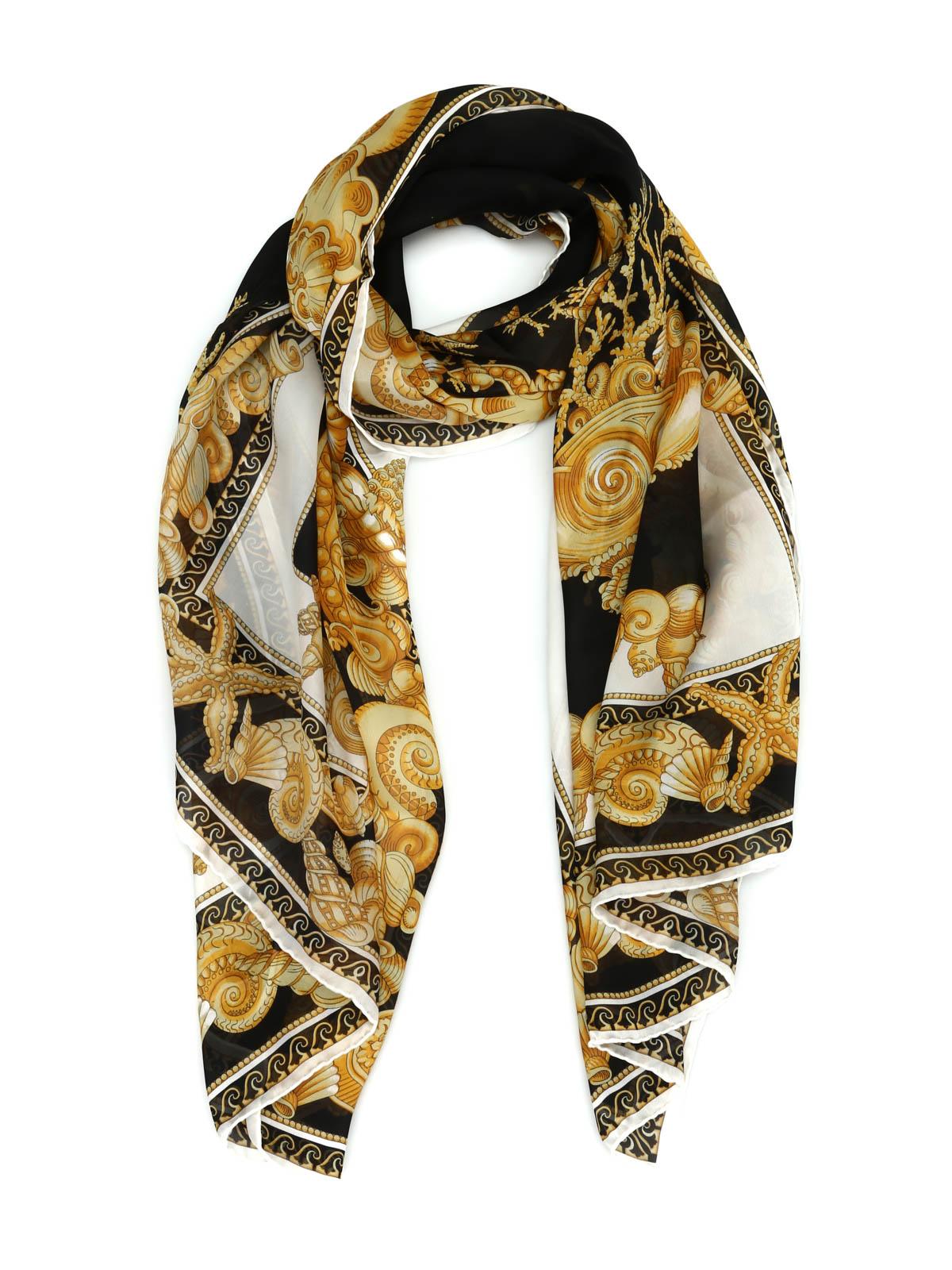 9cc4e2c9efa Versace - Oceanic Barocco scarf - scarves - IST7002 IT00397 I7910