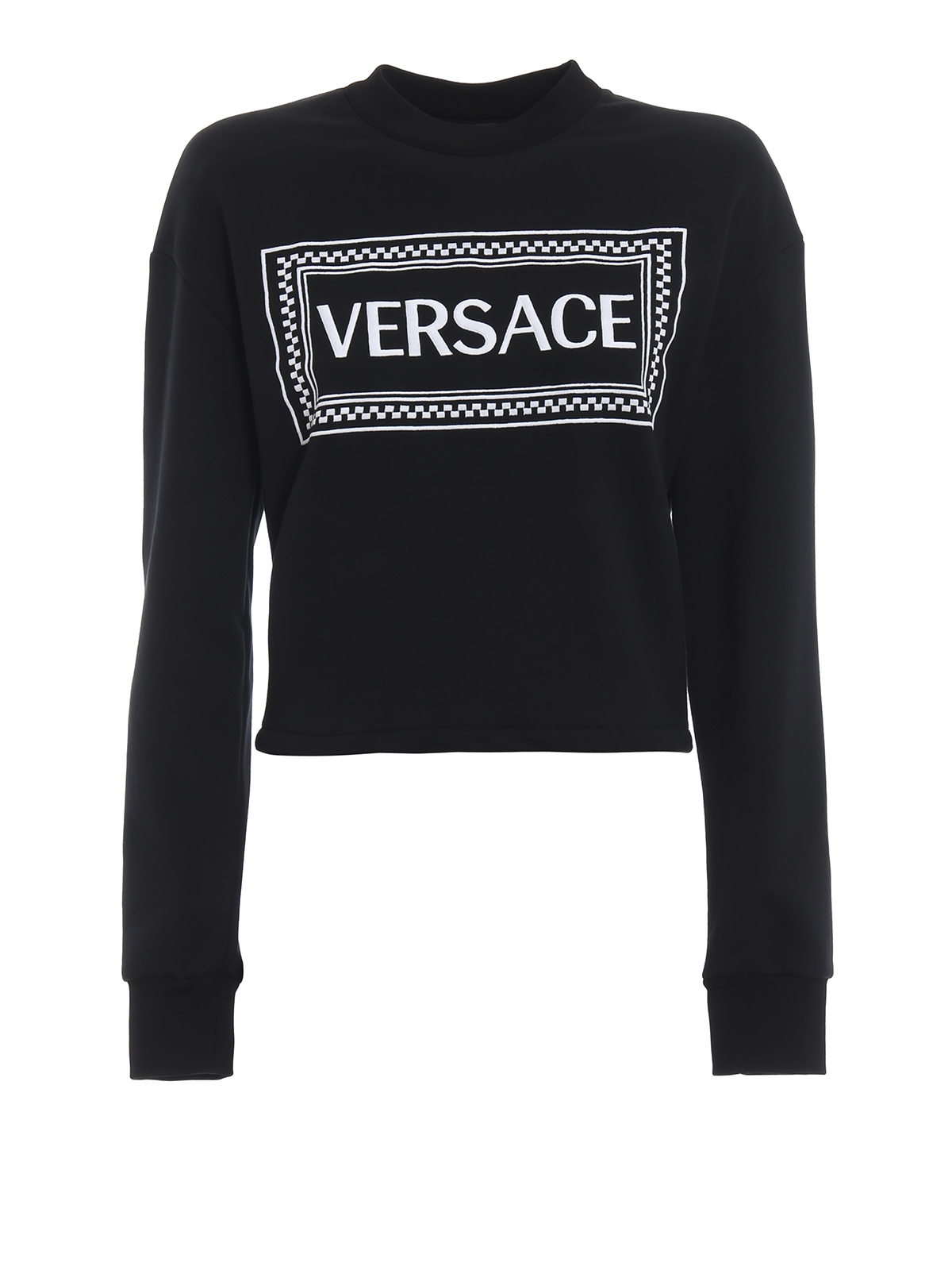 a2ace4a2891 VERSACE  Sweatshirts   Sweaters - Versace 90s Vintage logo cropped  sweatshirt