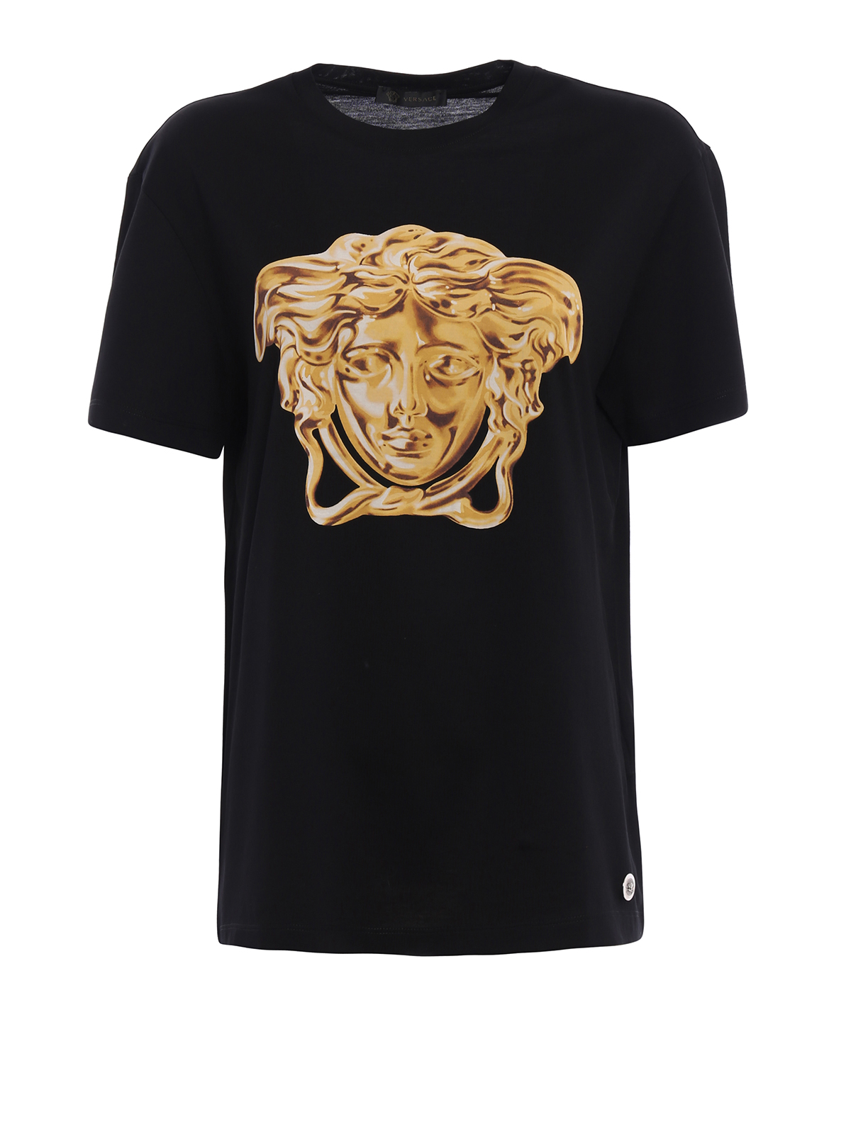Medusa Head print T-shirt by Versace - t-shirts | iKRIX