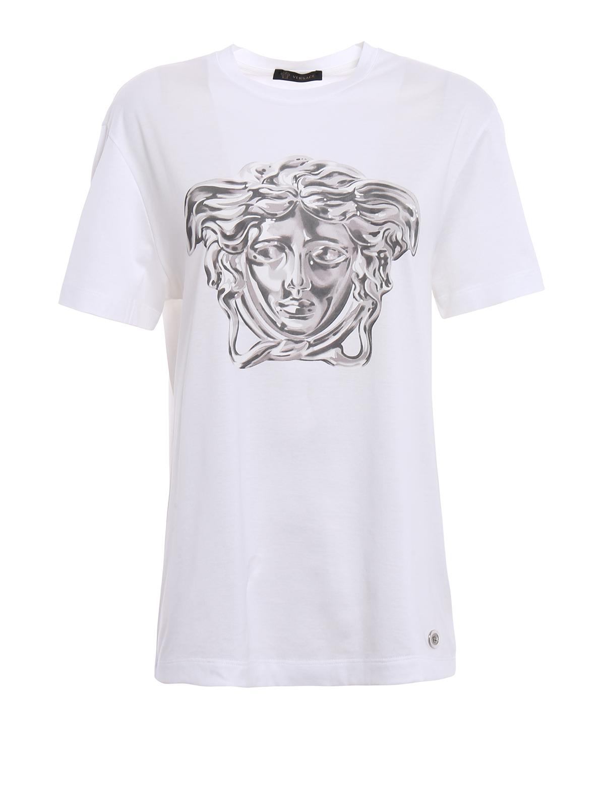 Versace - Medusa Head print T-shirt - t-shirts ...