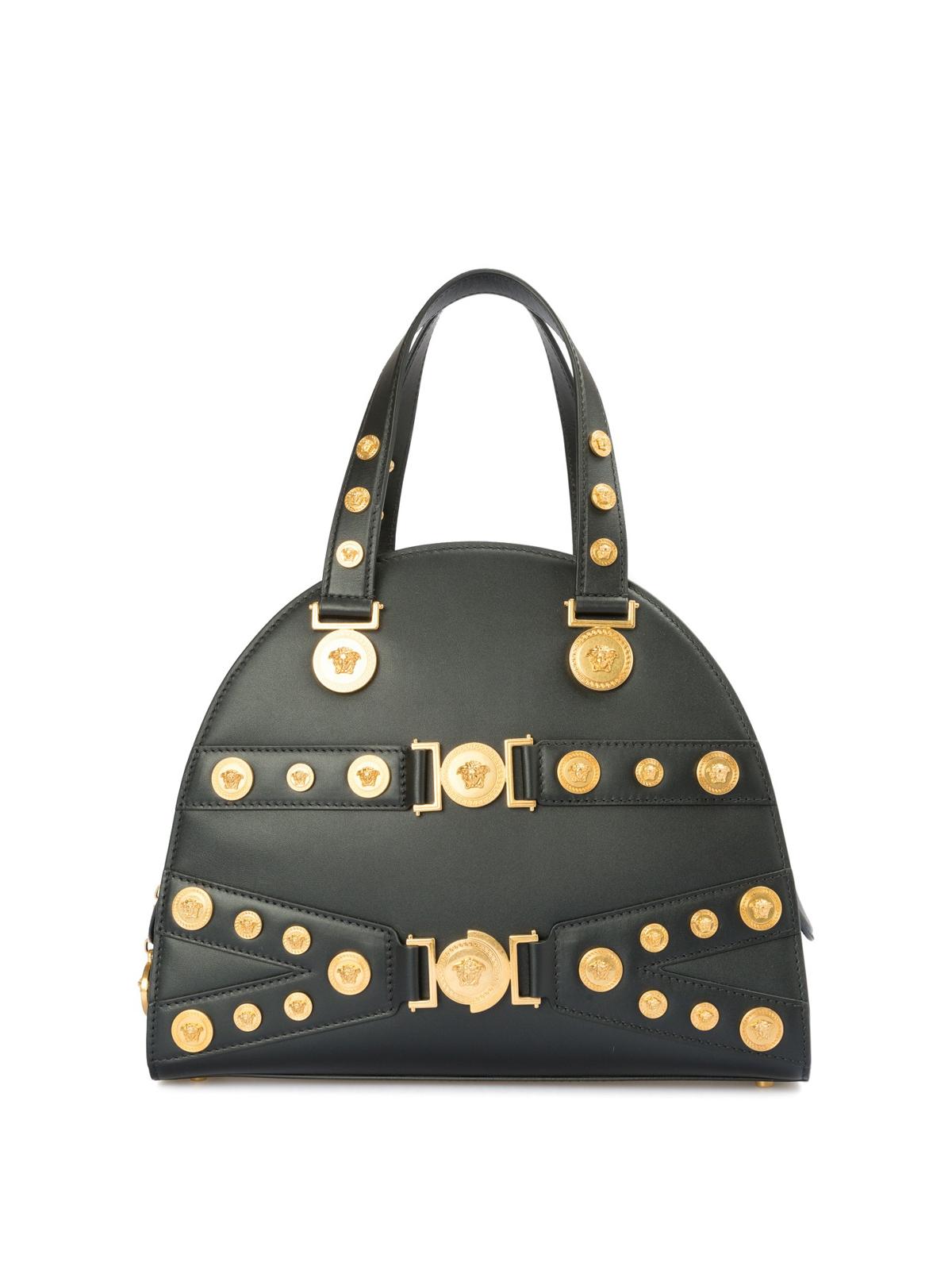 1d56040d809 Versace - Tribute leather handbag - totes bags - DBFG307DV1TK41OT