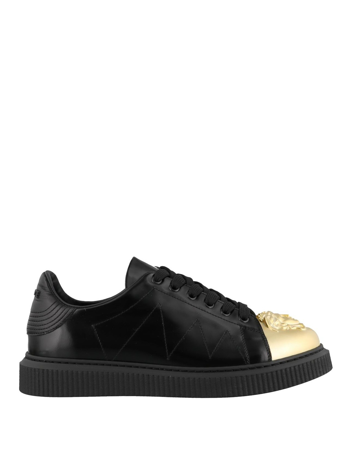 Versace - Medusa black nappa sneakers