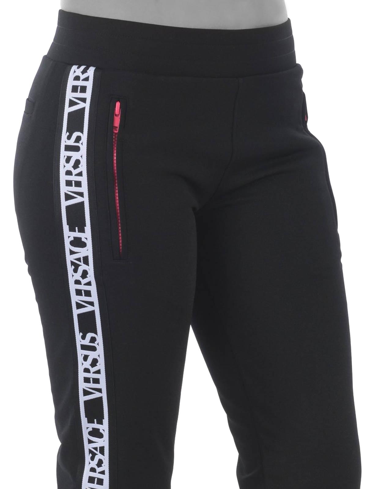 BNWT Men/'s black Jogging Bottom Versace Versus Authentic Medium M