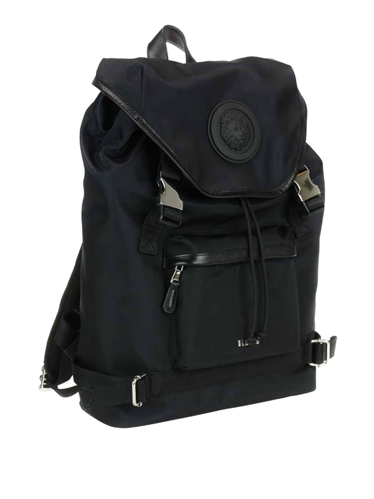 Versus Versace  backpacks online - Lion Head detailed nylon backpack 6fdfa8b566c68