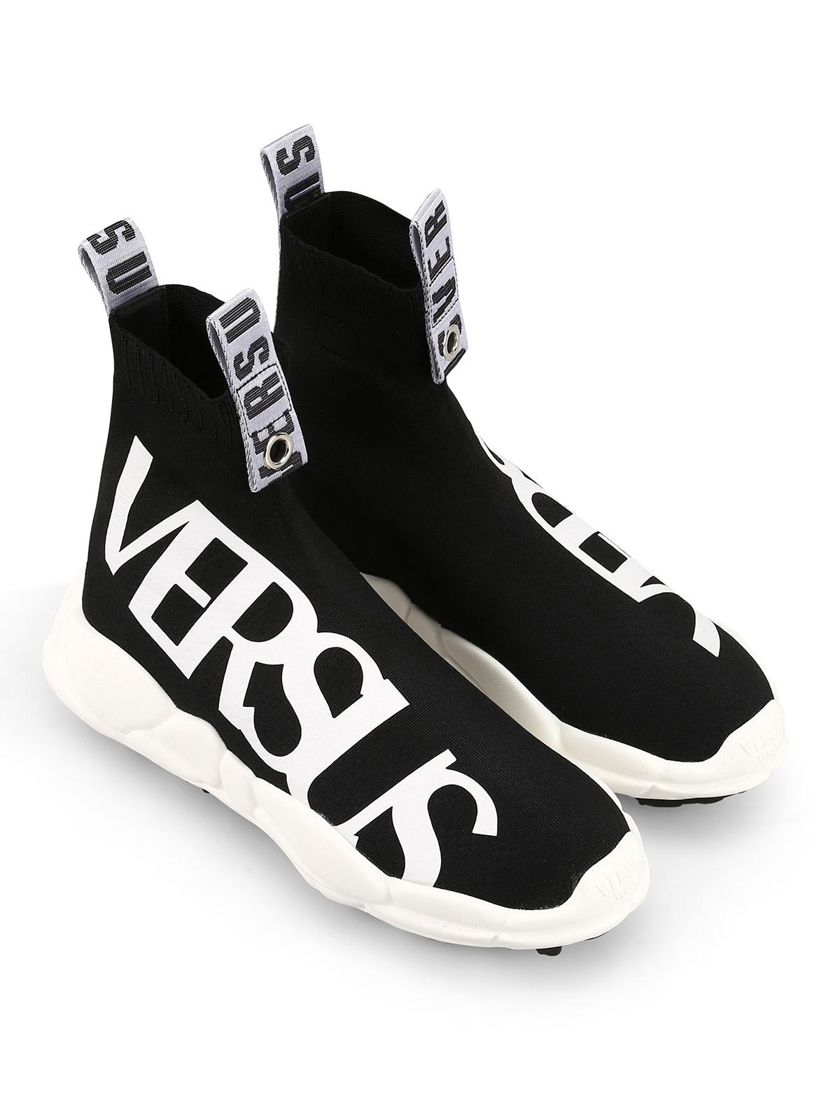 Versus Versace - Logo sock sneakers