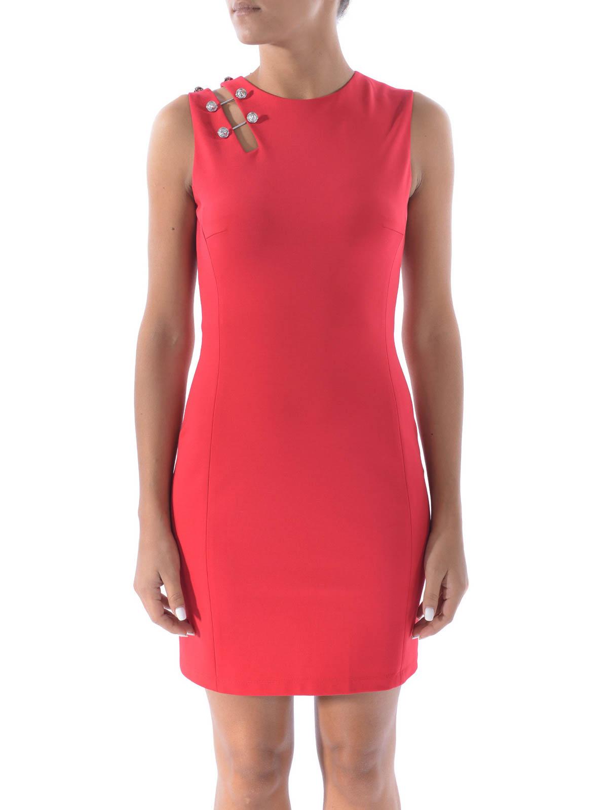 Kurzes Kleid - Rot von Versus Versace - Kurze Kleider | iKRIX