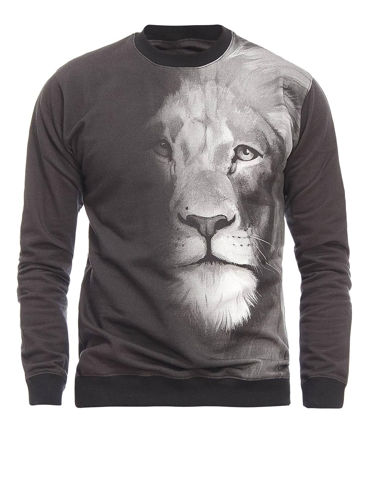 d55b95ec992d Versus Versace - Macro Lion print sweatshirt - Sweatshirts   Pulls ...