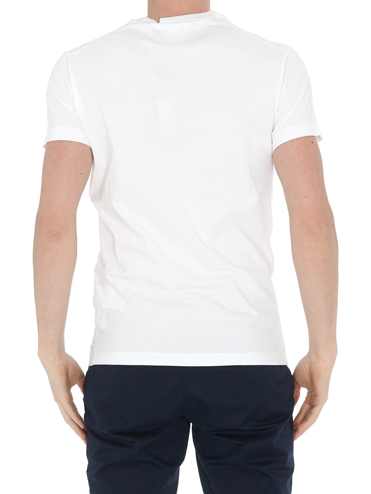 Details about  /Dsquared2 Mens Vicious Bros T-Shirt Round Neck Short Sleeves Casual Tee Top