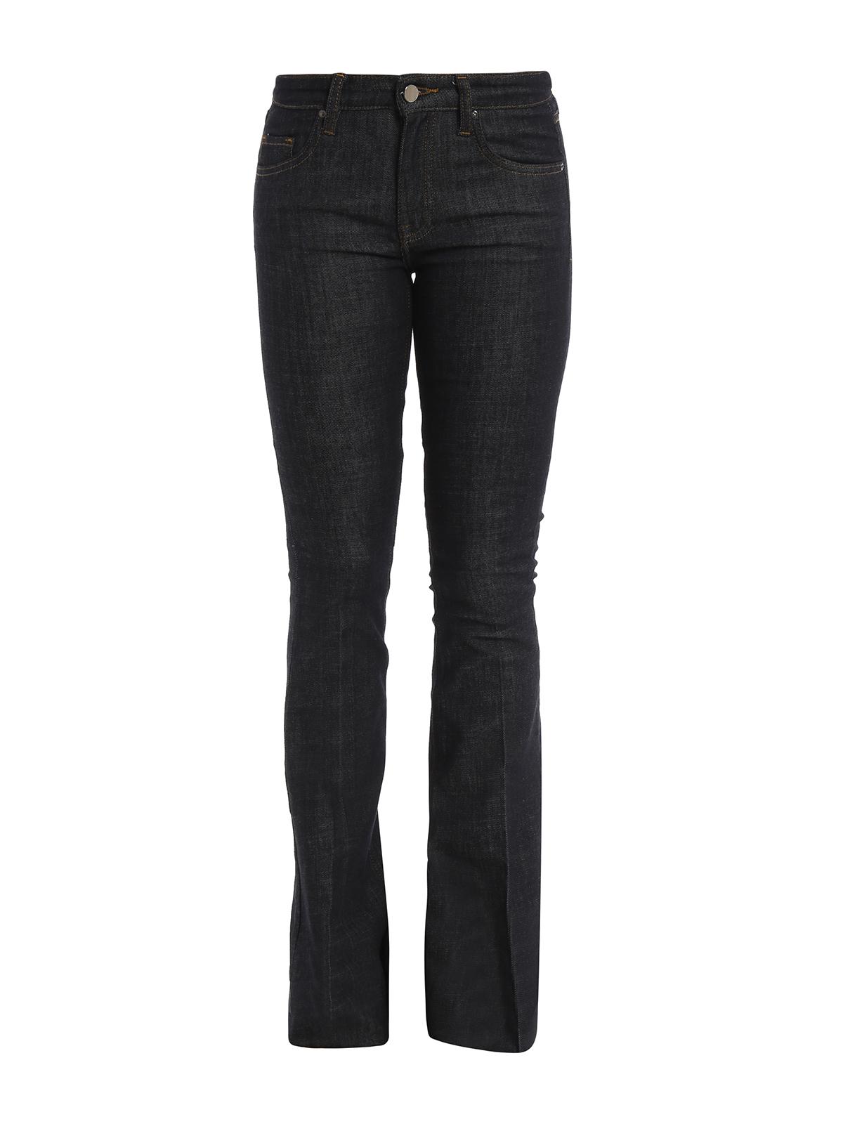 denim flared jeans by victoria beckham flared jeans ikrix. Black Bedroom Furniture Sets. Home Design Ideas