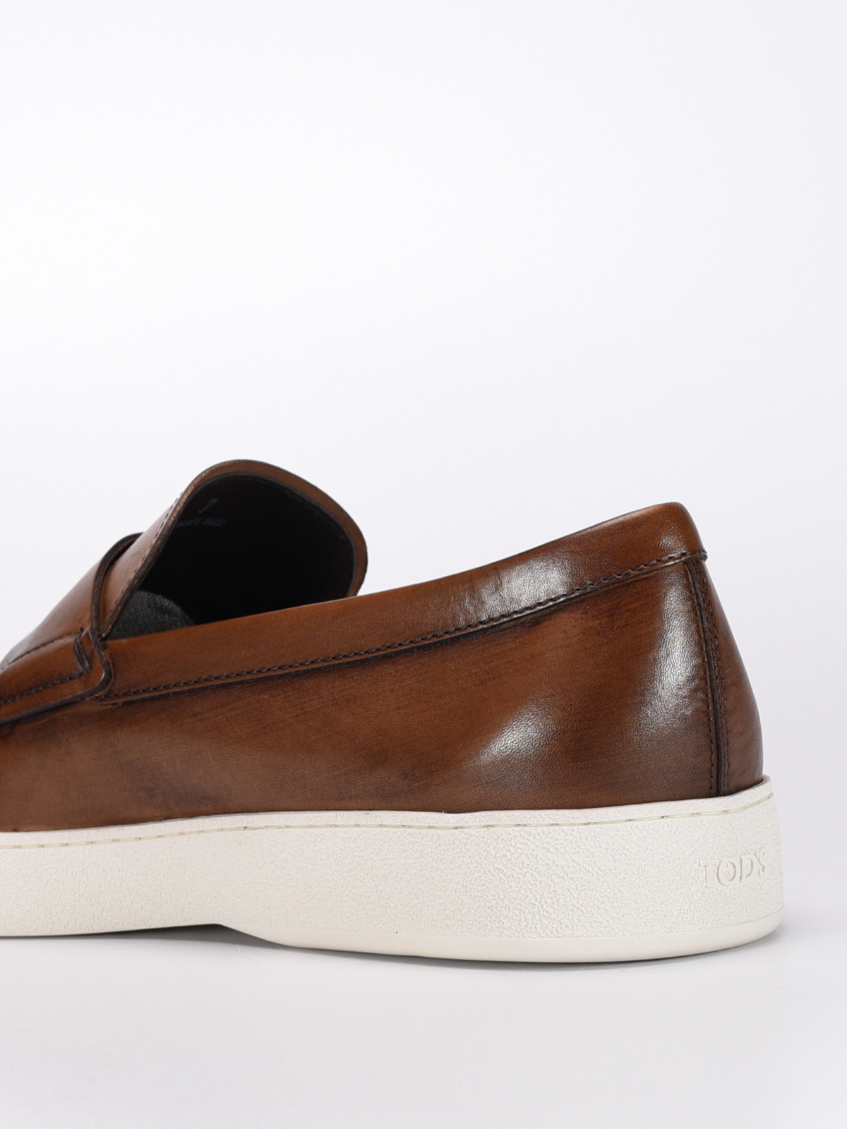 Vintage leather loafers - Loafers