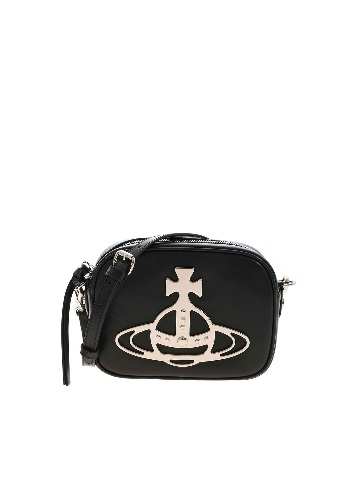 Vivienne Westwood ANNA CAMERA BAG IN BLACK