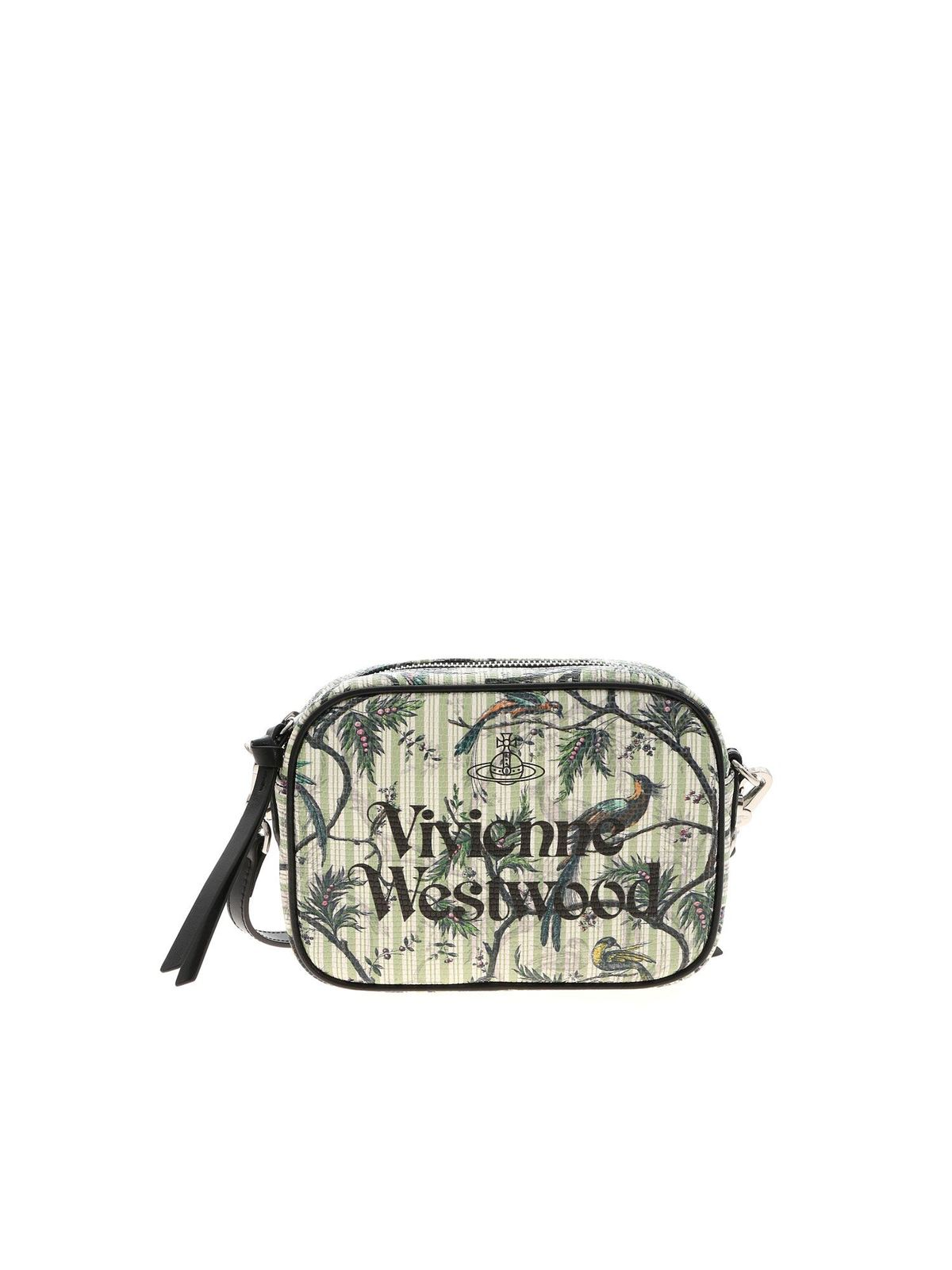 Vivienne Westwood ANNA CAMERA BAG IN GREEN