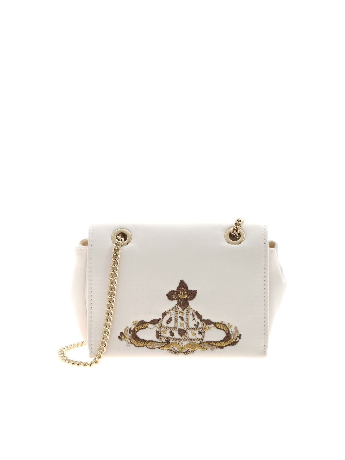 Vivienne Westwood BRIDAL BAG IN IVORY COLOR