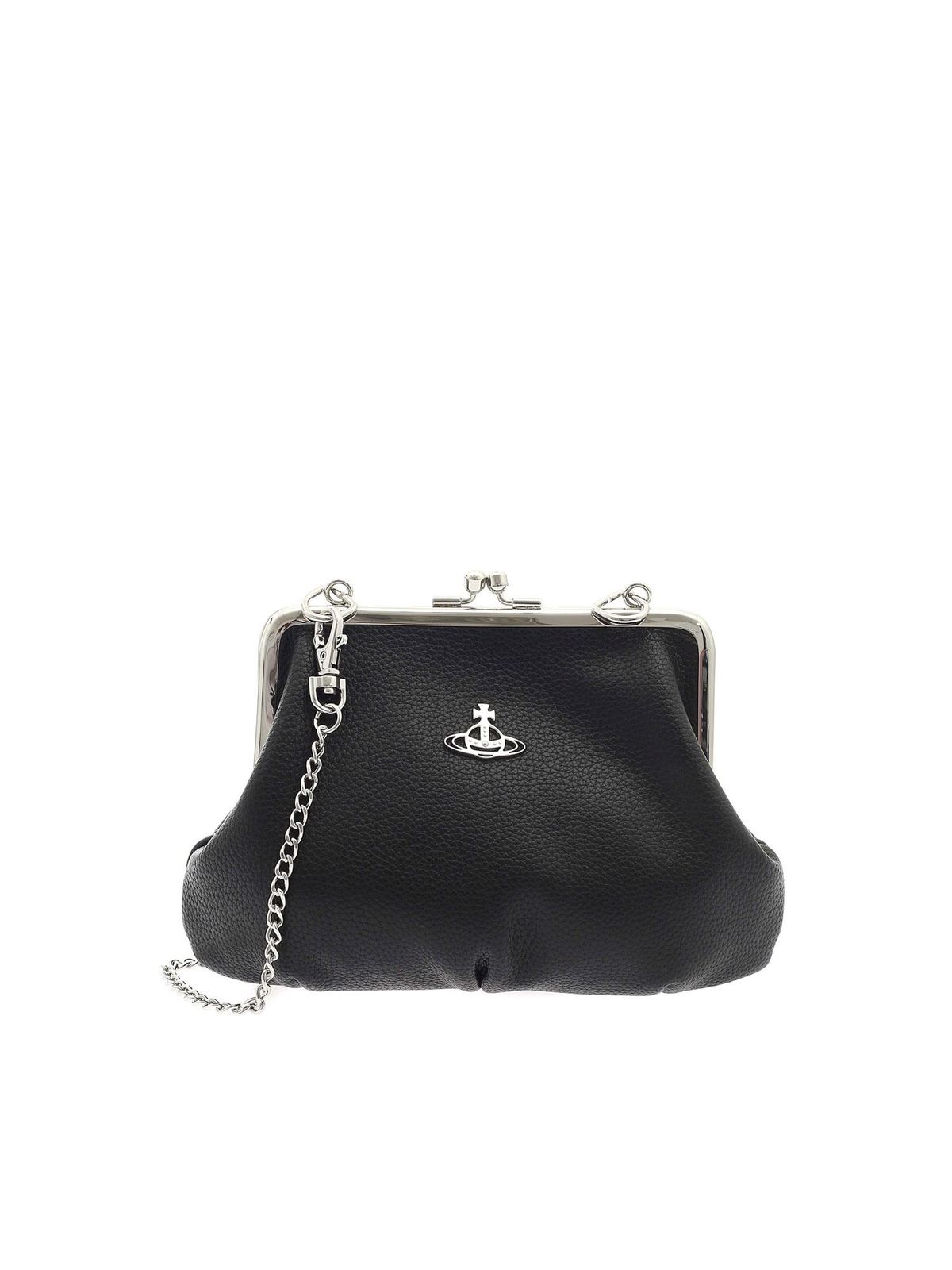 Vivienne Westwood JOHANNA FRAME BAG IN BLACK