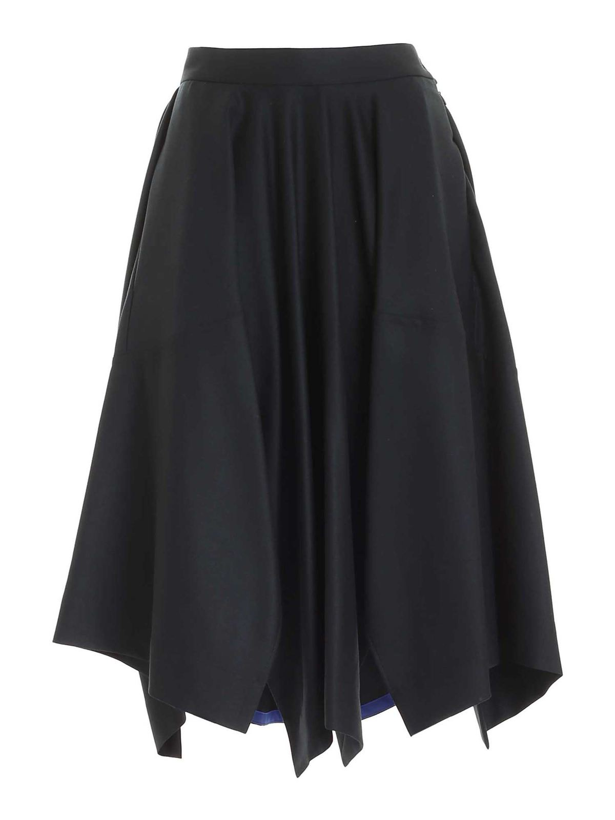Vivienne Westwood KNOCKOUT SKIRT IN DARK GREEN