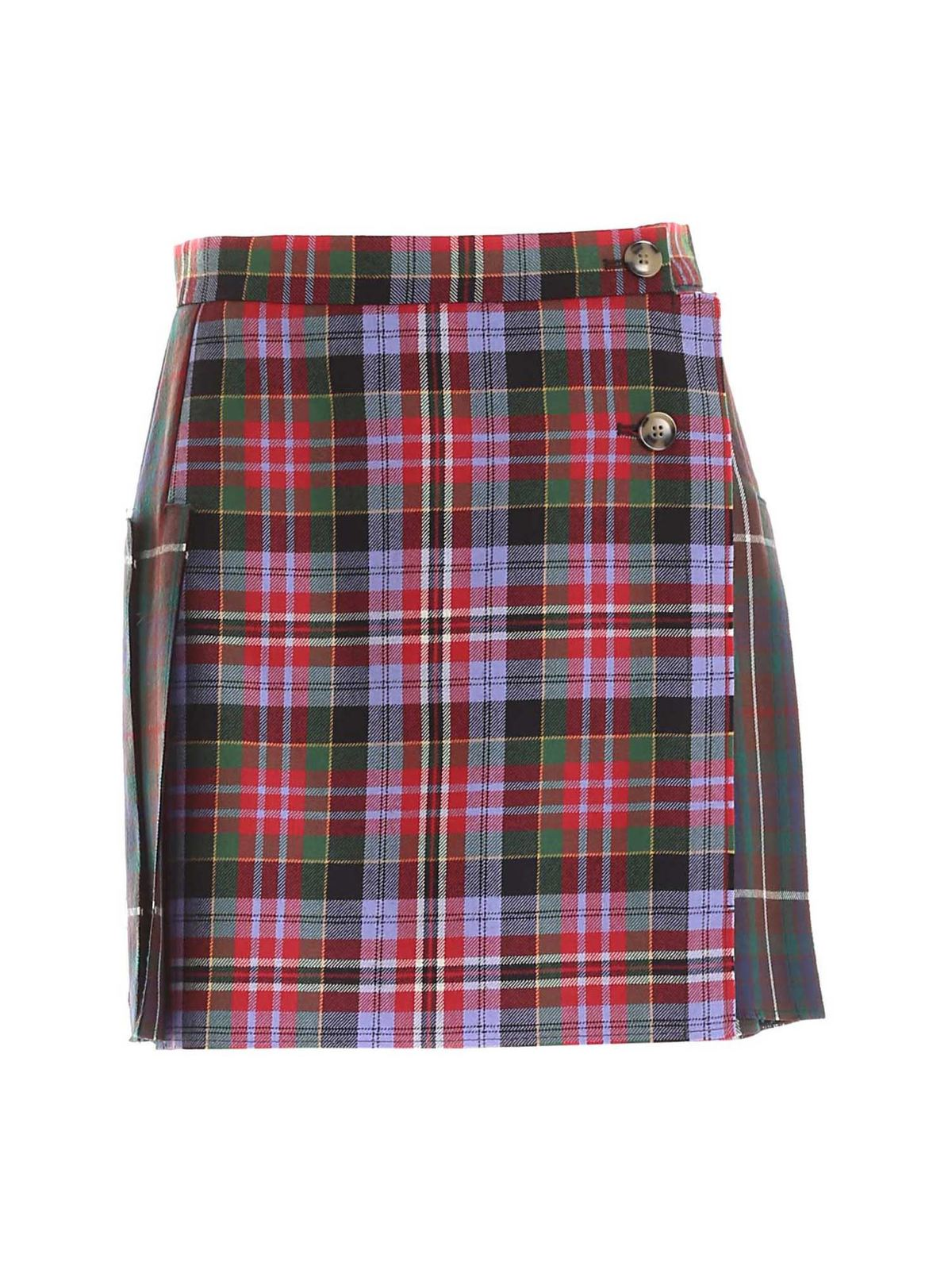 Vivienne Westwood COURT KILT MULTICOLOR SKIRT