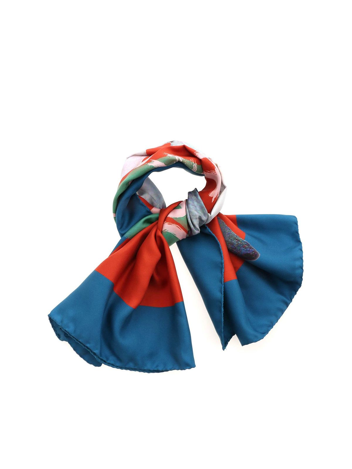 Vivienne Westwood LOGO SCARF IN ORANGE