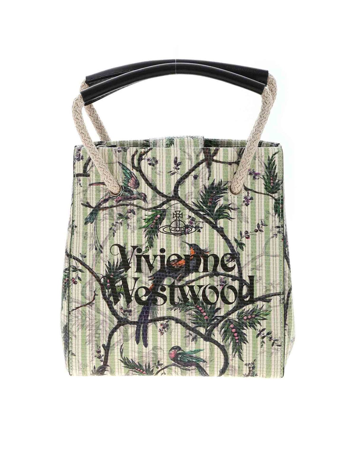 Vivienne Westwood SLOANE MINI CROSSBODY BAG IN GREEN