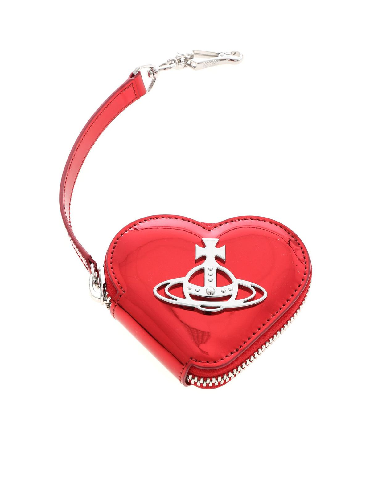 Vivienne Westwood JOHANNA COIN PURSE IN RED