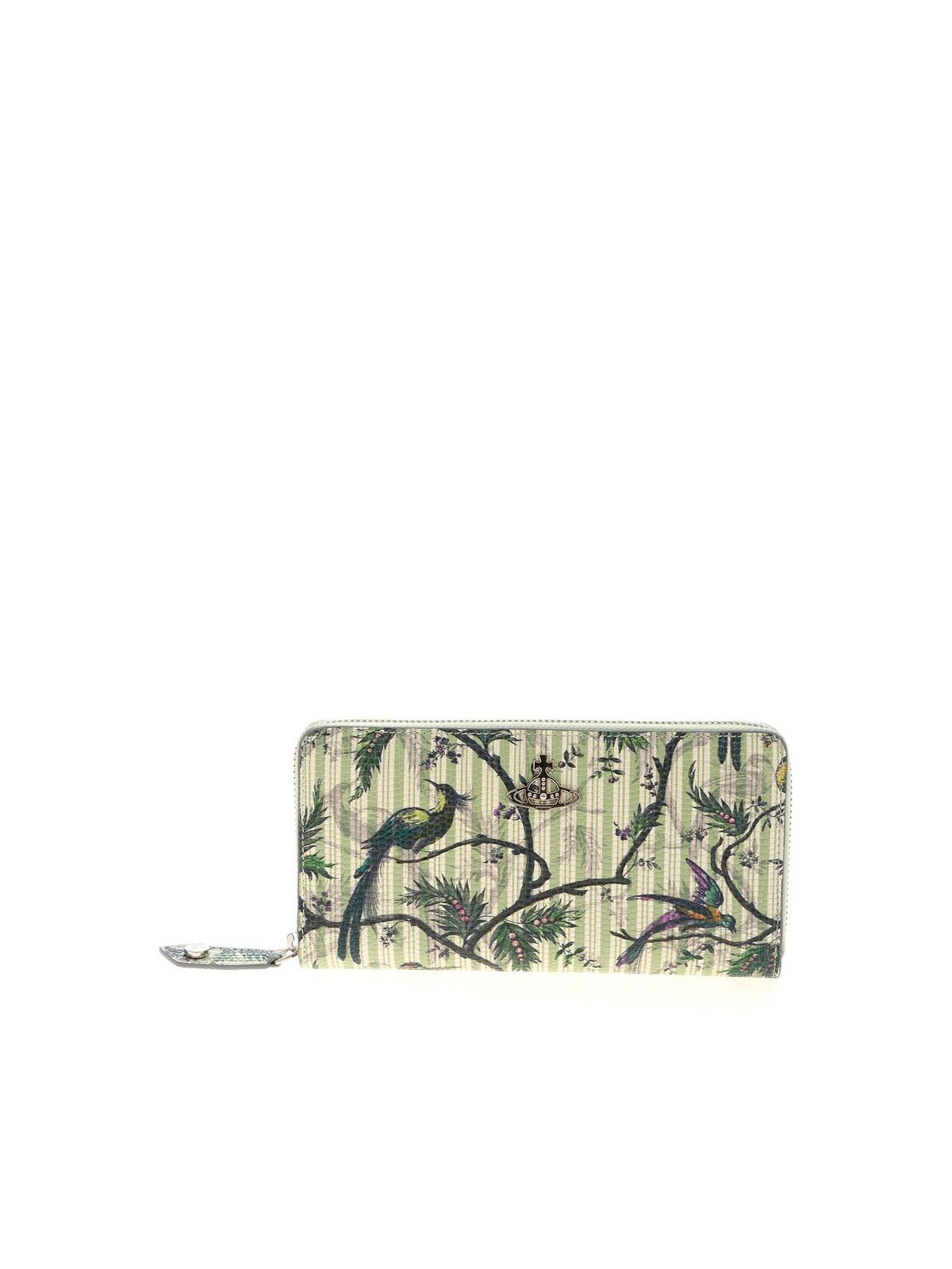 Vivienne Westwood SLOANE WALLET IN GREEN