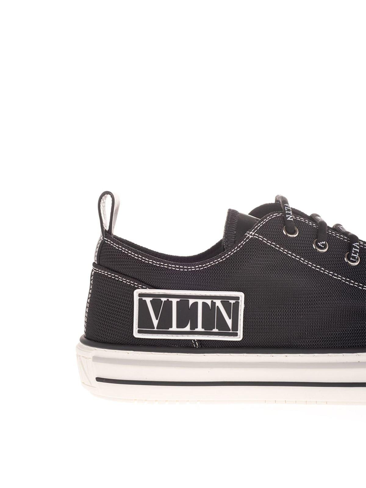 Trainers Valentino Garavani - VLTN sneakers in black - UY2S0D57MBU0NO