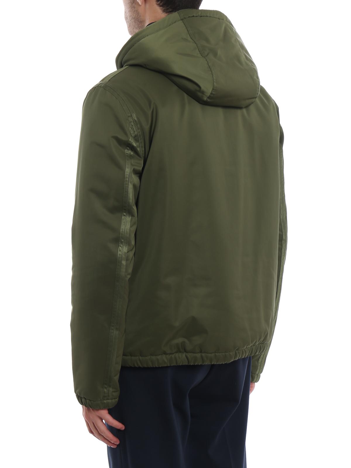 online store 74c57 a5db8 Dondup - Giacca a vento con cappuccio imbottita - giacche ...