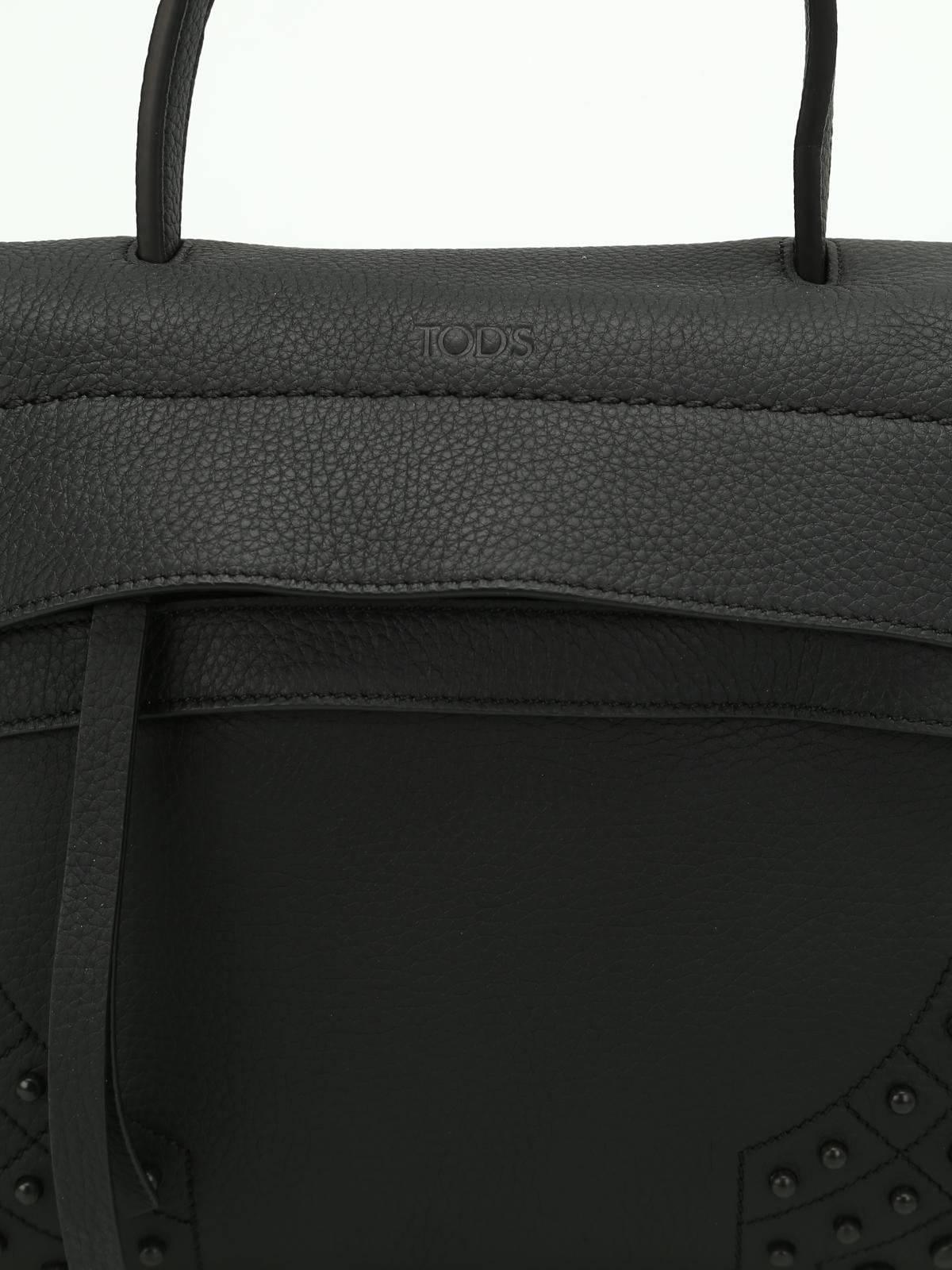 83377c71b97c Tod S - Wave leather mini shoulder bag - shoulder bags ...