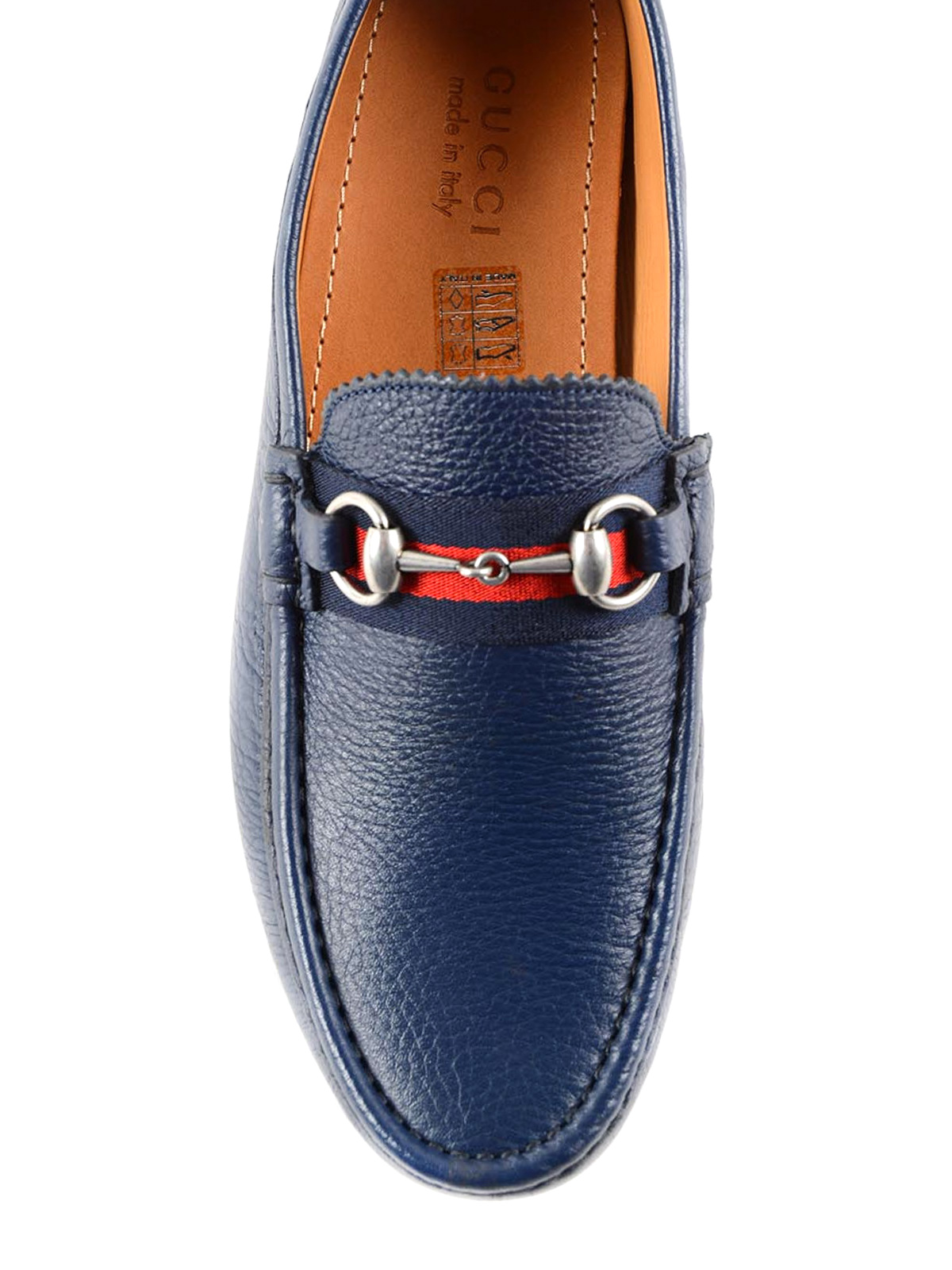 53d5998ec69 Gucci - Web and horsebit driver loafers - Loafers   Slippers ...