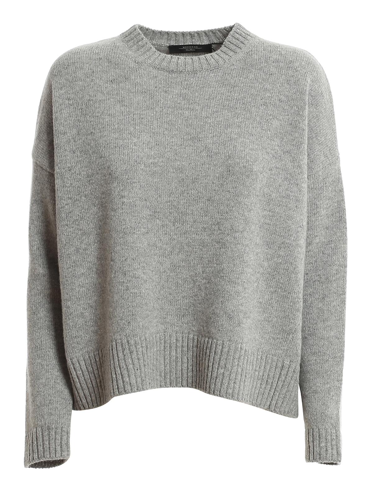 Weekend Max Mara Alpe Sweater In Grey