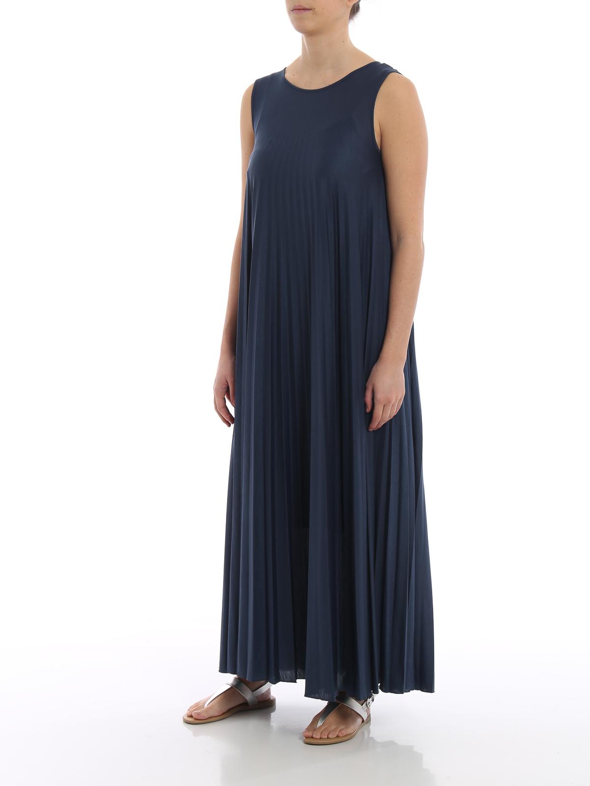 dd0aa6c4cf86f1 WEEKEND MAX MARA  maxi dresses online - Oggetti blue jersey maxi dress