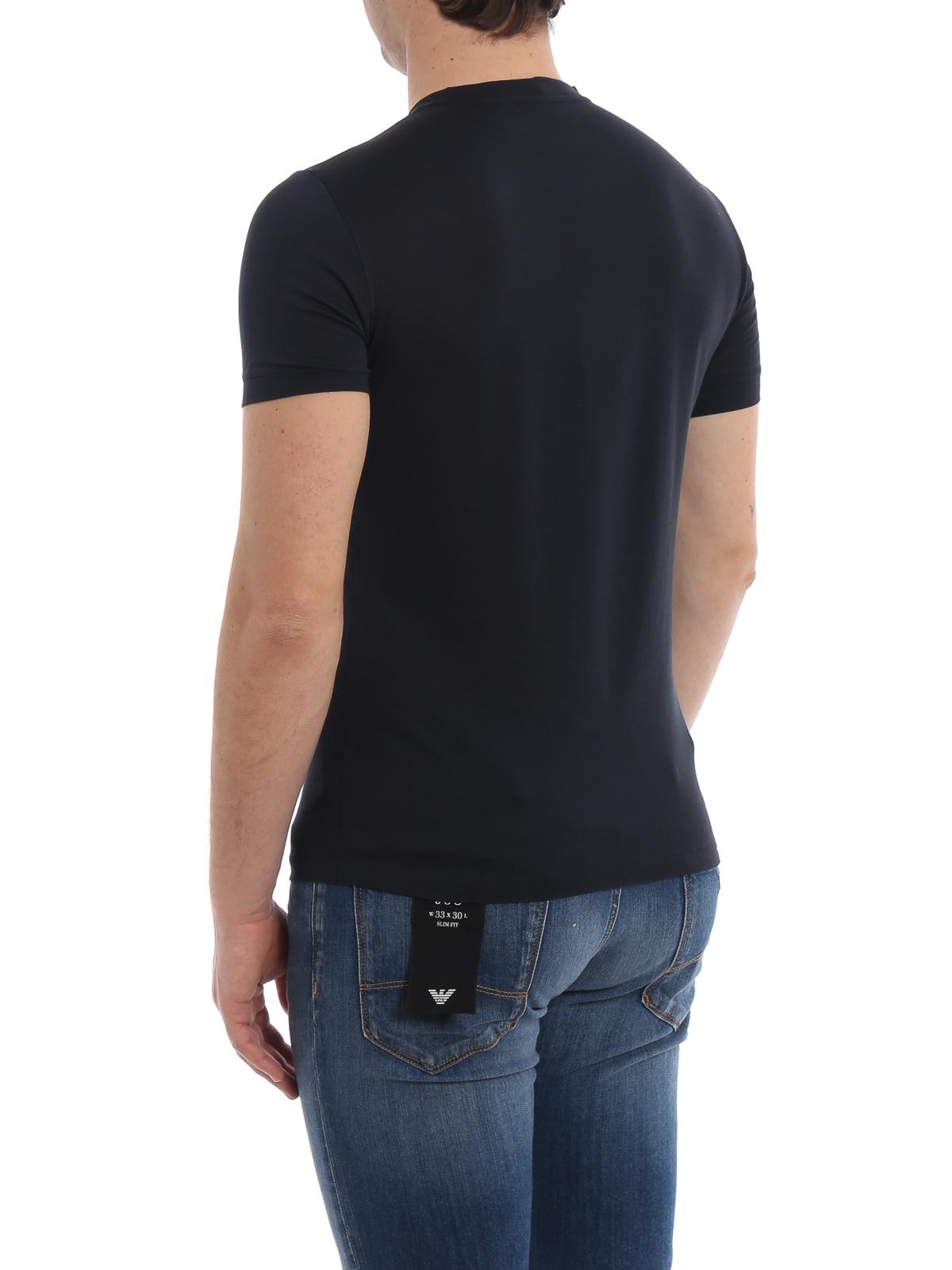 Giorgio Armani T shirt a manica corta in leggerissimo